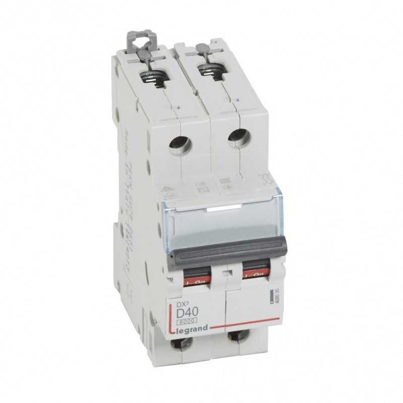 Interruptor Magnetotérmico Dx3 6000 Curva D 10 Ka Bipolar  Legrand
