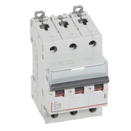 Interruptor Magnetotérmico Dx3 6000 Curva D 10 Ka Tripolar  Legrand