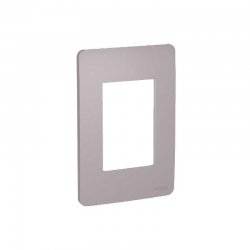 Placa 3 Puestos Orion Axis-Grey