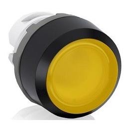 Pulsador Rasante 22Mm Amarillo 1Na Luminoso Led 220V Abb