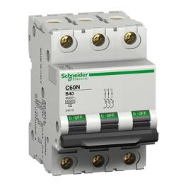 Interruptor Automatico 3P 10A C 10Ka C60N