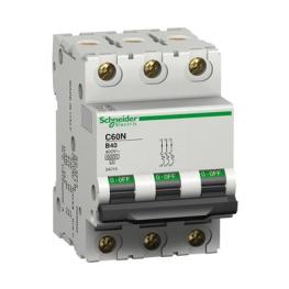 Interruptor Automatico 3P 63A C 10Ka C60N