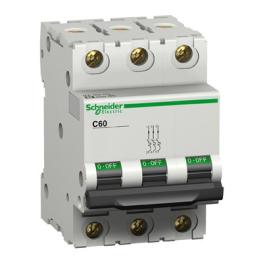 Interruptor Automatico 3P 25A C 25Ka C60L