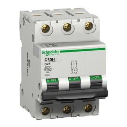 Interruptor Automatico 3P 10A C 15Ka C60H