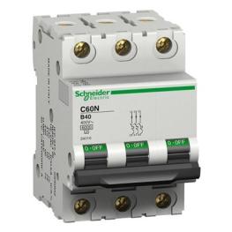 Interruptor Automatico 3P 40A B 10Ka C60N