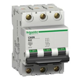 Interruptor Automatico 3P 40A C 10Ka C60N