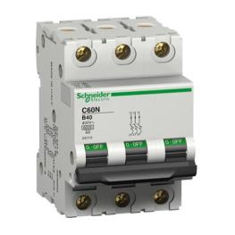 Interruptor Automatico 3P 32A C 10Ka C60N