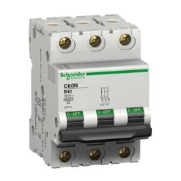 Interruptor Automatico 3P 2A C 10Ka C60N