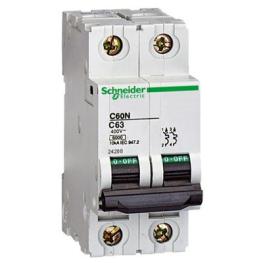 Interruptor Automatico 2P 1A C 10Ka C60N