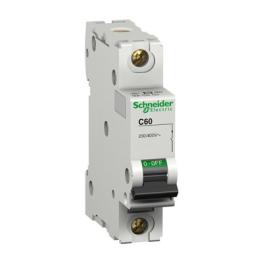 Interruptor Automatico 1P 6A C 25Ka C60L