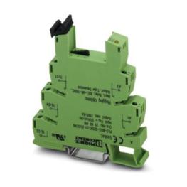 Borne Libre Mantencion 2,5mm Verde/Amarillo  Plc-Bsp-120Uc/21-21