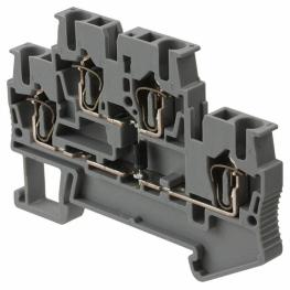 Borne Libre Mantencion 5,2mm Gris Arriba-Abajo 0,08-2,5mm