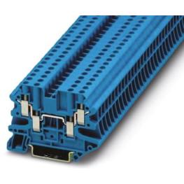 Borne Neutro 26-10Awg Azul Ut 4-Quattro