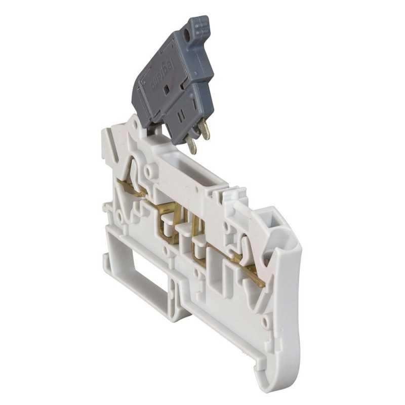 Borne Portafusible 2,5mm gris - Legrand