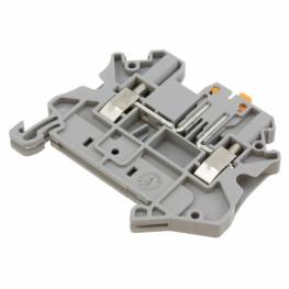Borne Portafusible 2,5mm Gris Universal Ut-2,5 -Mt