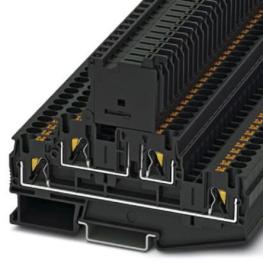 Borne Portafusible 5x20mm Negro Pttb 4-Hesiled 24