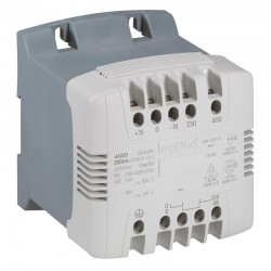 Transformador 230-400/115-230v 250va - Legrand