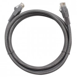 Patch cord gris CAT6 0.9mts