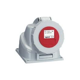 ENCHUFE HEMBRA EMBUTIDA 3P+T 125A 380VAC IP67