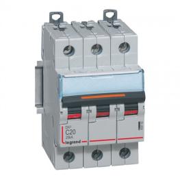 Interruptor Automático 3P 20A C 25KA LEX³ DX³