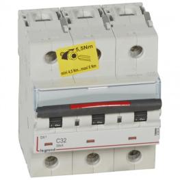Interruptor Automático 3P 32A C 36KA 400V DX3