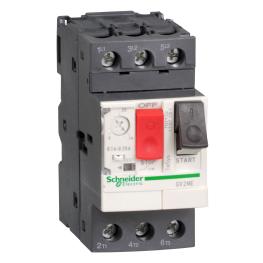 Guardamotor magnetotermico mando por pulsador 3 polos - 4…6.3A  Schneider