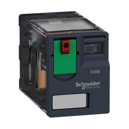 Rele miniatura - 24 V AC - 10 A - 4 C/O Schneider