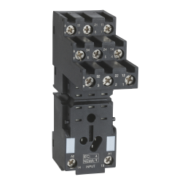 Base rele rum separador de contactos RXM3 10A - 250V  Schneider
