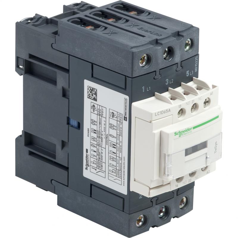 Contactor 3 polos - 65A - 220V AC - NANC Schneider