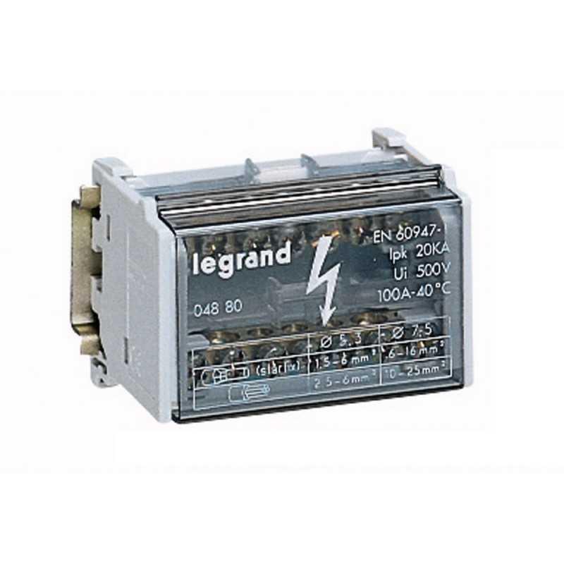 Repartidor Bipolar 100A42X44X70Mm Legrand