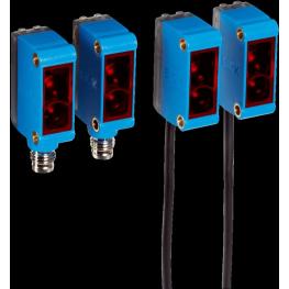 Sensor fotoeléctrico Barrera, luz roja, alcance 15 mts