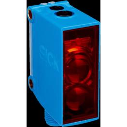 Sensor fotoeléctrico réflex, alcance 0.15m...10m, luz roja visible
