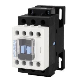 Contactor 3P 50A 30HP 22Kw 220Vac 2Na+2Nc