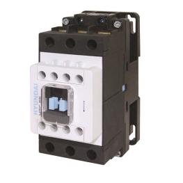 Contactor 3P 100A 74HP 55Kw 220Vac 2Na+2Nc