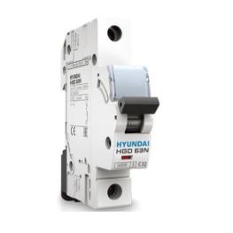 Interruptor Termomagnético 1P Curva C 10kA 6A