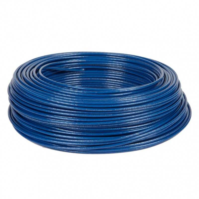 Cable Control Libre Halogeno 2.5Mm Azul Es07Z1-K Toxfree
