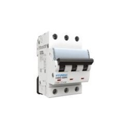 Interruptor Termomagnético 3P Curva C 10kA 10A