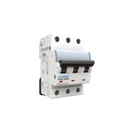 Interruptor Termomagnético 3P Curva C 10kA 16A