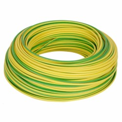 Cable Control Libre Halogeno 2.5Mm Verde/Amarillo Es07Z1-K Toxfree