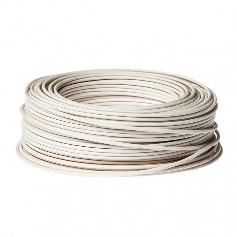 Cable Control Libre Halogeno 4 Mm Blanco
