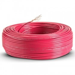 Cable Control Libre Halogeno 4 Mm Rojo