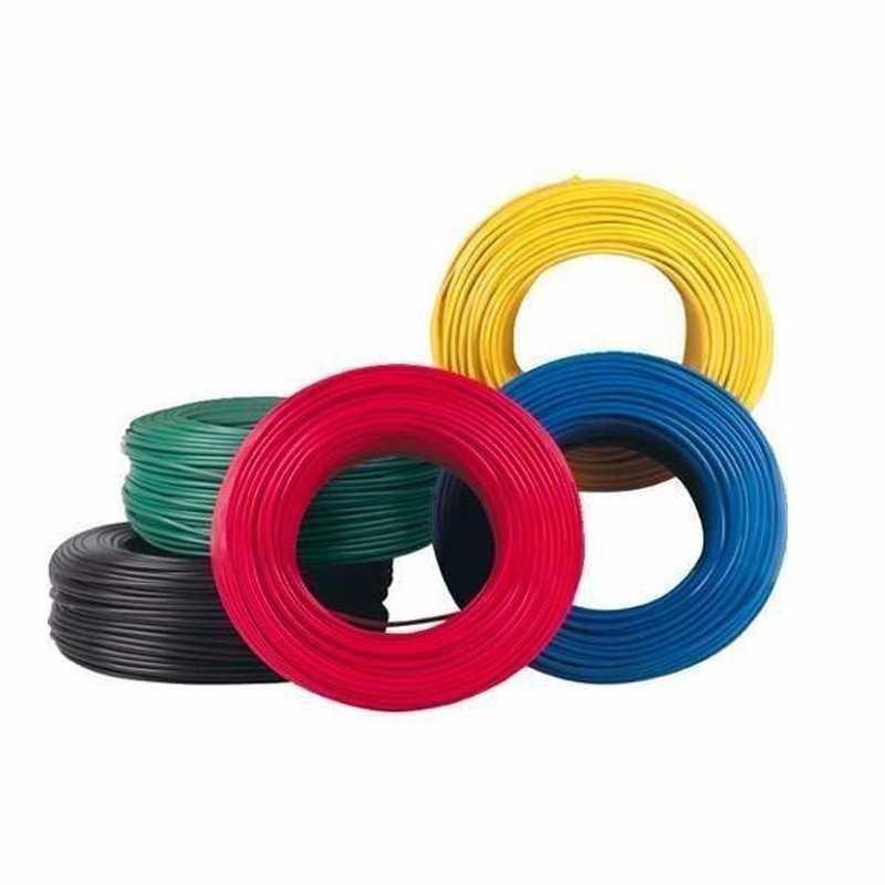 Cable Domiciliario 10Awg Negro 600V Thhn Rollo de 100 metros