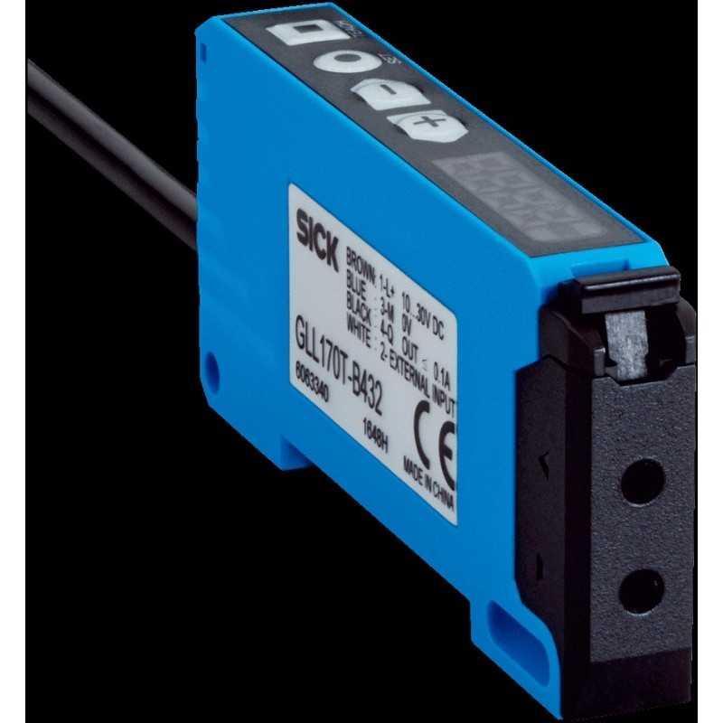 Sensor de fibra óptica, alcance 0 mm ... 350 mm energético, 0 mm ... 1.100 mm barrera