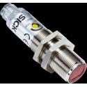 Sensor fotoeléctrico energetico M18 radial, alcance 1...1100 mm