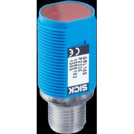 Sensor fotoelectrico reflex M18, alcance 0,06...6m