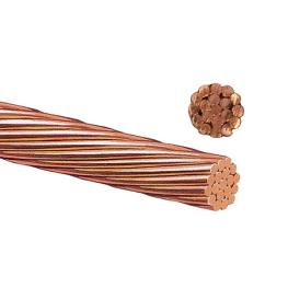 Cable Cobre Desnudo 2/0Awg 19 Hebras Blando (Valor por KG)