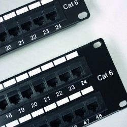 Patch Panel 24 Bocas Vacia Keystone