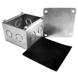 Caja Zincada 150x150x100mm Completa B-15