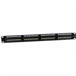Patch Panel CAT5E 24 Posiciones 1U Negro  Siemon