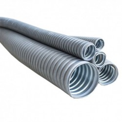 "Conduit Flexible revestido PVC Metálico 1"" 32mm Liquid Tight"